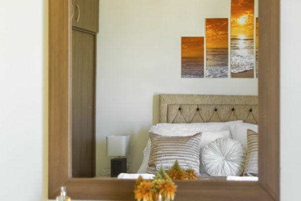Villa Lavender bedroom mirror