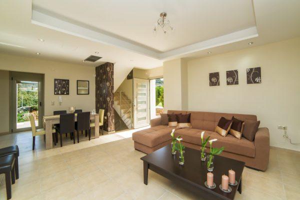 Villa Mint living room