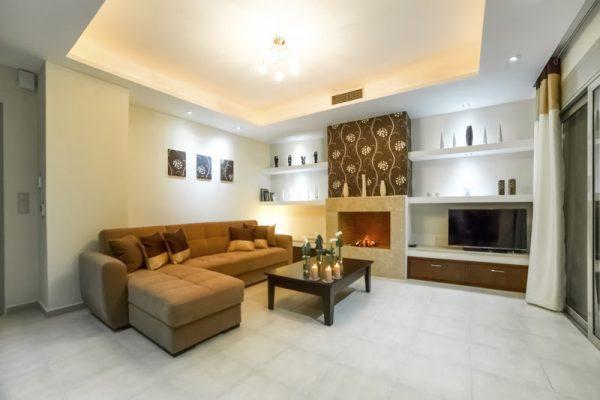 Villa Mint living room area