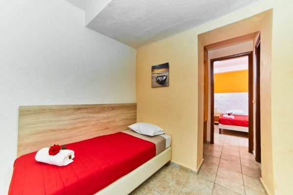 One Bedroom Triple Apartment living oom