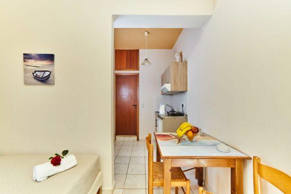 One Bedroom Quadruple Apartment Sitting area