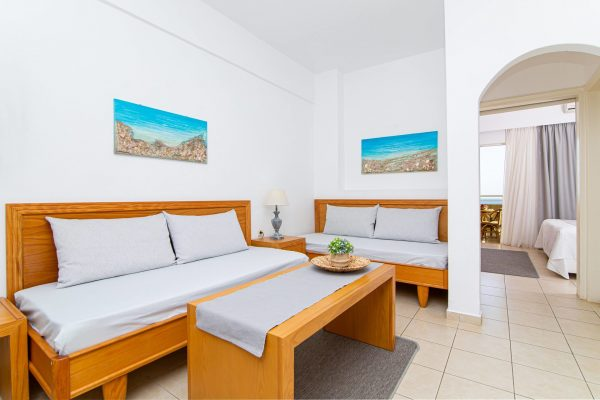 Luxury One Bedroom Apartments with Sea View (Room Number 12)living room area