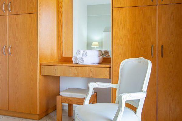 Luxury One Bedroom Apartments with Sea View Bedroom Wardrobe