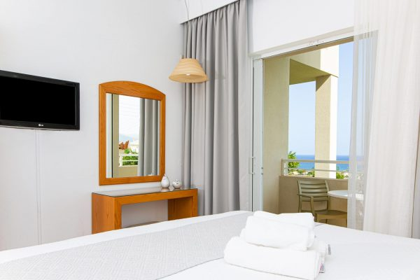 Superior Double Studios with Sea View Balcony view