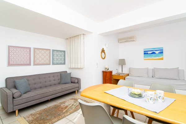 Family Two Bedroom Apartments with Sea View or Garden View living room