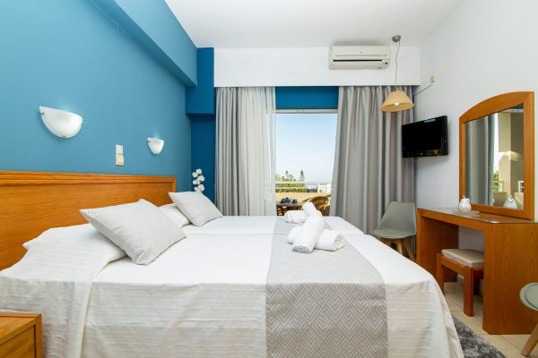 Superior Triple Studios with Sea View or Garden View room view