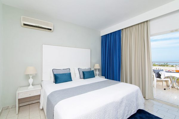 Family Two Bedroom Apartments with Sea View or Garden View bedroom