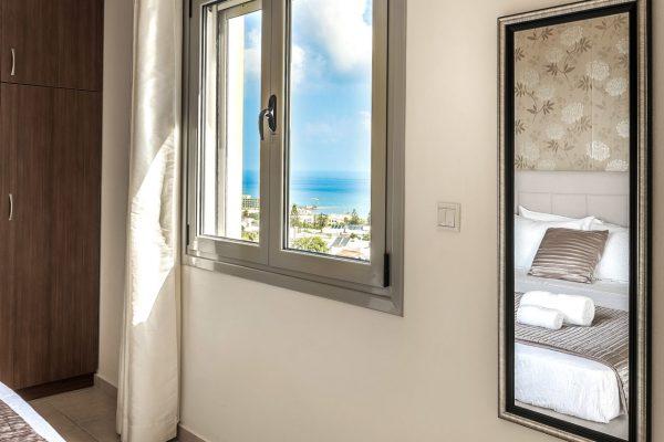 Villa Lavender bedroom view