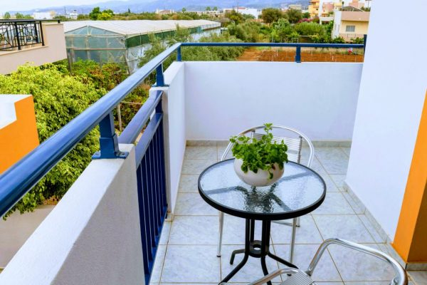 One Bedroom Apartment with Garden View blacony