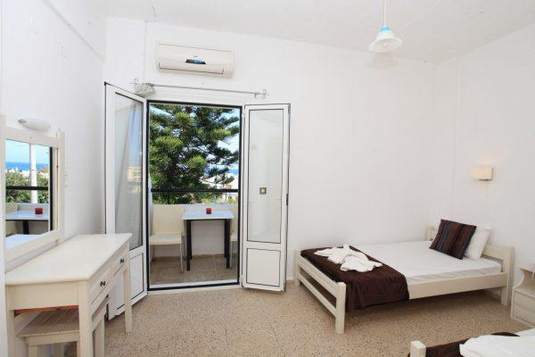 Family One Bedroom Quadruple ApartmentFamily One Bedroom Quadruple Apartment bedroom