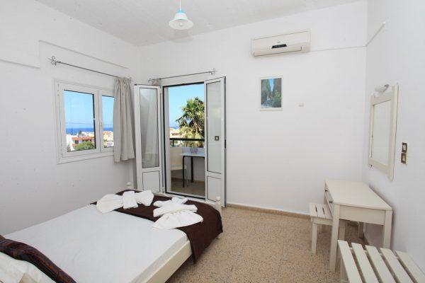 Family One Bedroom Quadruple Apartment bedroom
