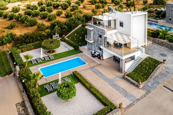 Villa Mint aerial view