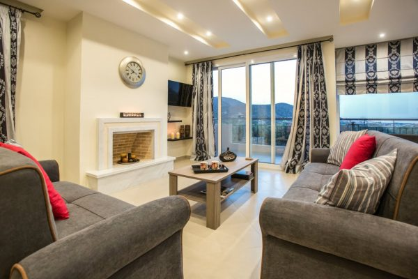 Living Room area and balcony