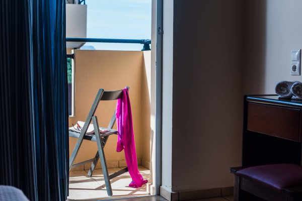 Standard Twin/Double Studio balcony