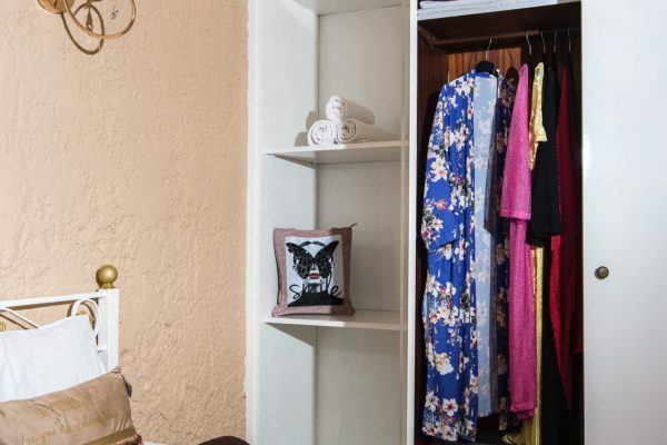 Standard Triple Studio wardrobe