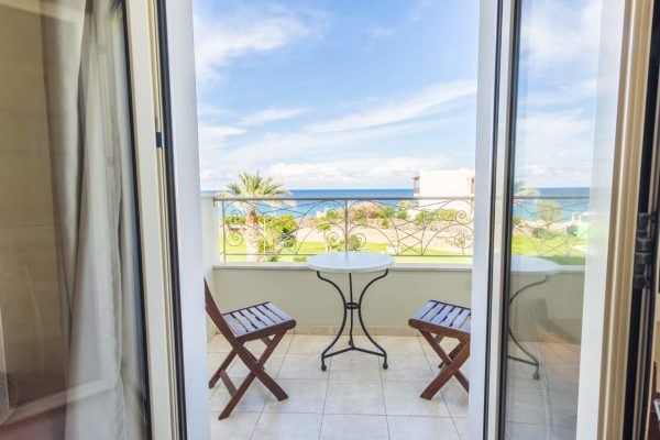 Superior One Bedroom Apartment with Sea View balcony view