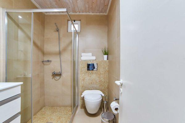 Superior Triple Studios with Sea View or Garden View bathroom