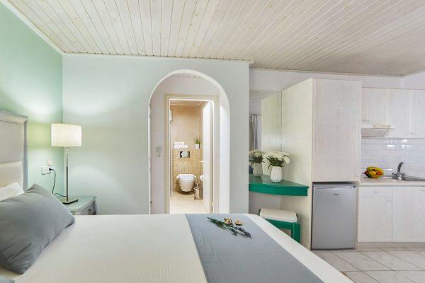 Superior Triple Studios with Sea View or Garden View kitchenette